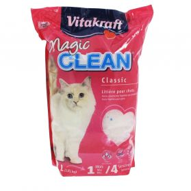 Vitakraft - Litière Magic Clean Classic pour Chats - 4,2L