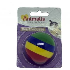 Animalis - Balle en Mousse pour Chat