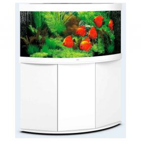 Juwel - Aquarium TRIGON 350 LED 2x23W + 2x12W avec Meuble - Blanc