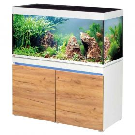 Eheim - Aquarium Incpiria 430 LED Combi avec Meuble - Alpin/Nature