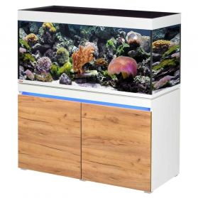 Eheim - Aquarium Incpiria Marine 430 LED Combi avec Meuble - Alpin/Nature