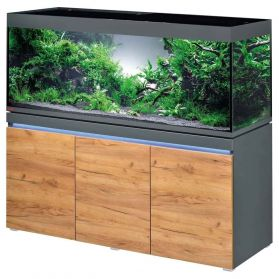 Eheim - Aquarium Incpiria 530 LED Combi avec Meuble - Graphite/Nature