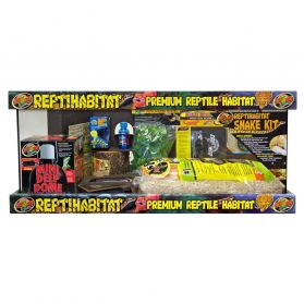 Zoomed - Terrarium ReptiHabitat Kit Serpent - 76x30x30cm