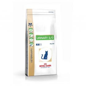 Royal Canin - Croquettes Veterinary Diet Urinary S/O pour Chat - 7Kg