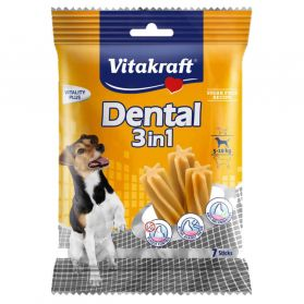 Vitakraft - Friandises Sticks Dental 2in1 pour Petits Chiens - 120g