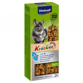 Vitakraft - Kräcker Calcium pour Chinchillas x2