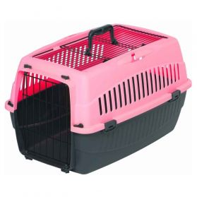 Wouapy - Caisse de Transport OPEN pour Chat - Rose