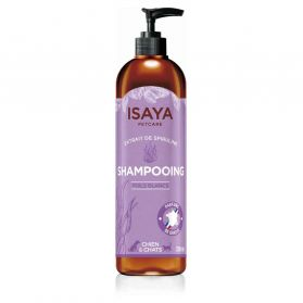 Isaya - Shampoing Poils Blancs pour Chien et Chat