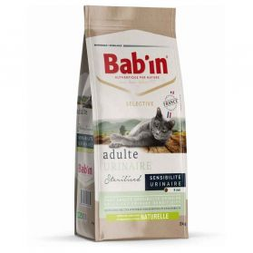 Bab'in - Croquettes SELECTIVE URINAIRE pour Chat - 2Kg