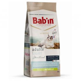 Bab'in - Croquettes SELECTIVE LIGHT pour Chat - 2Kg