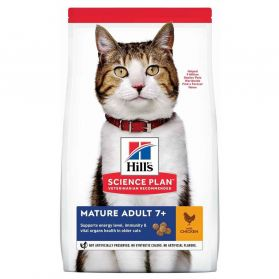 Hill's - Feline Mature Adult 7+ Poulet pour Chat - 1,5Kg