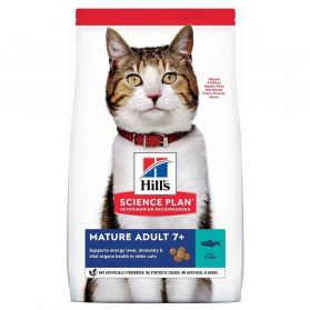Hill's - Feline Mature Adult 7+ Thon pour Chat - 1,5Kg