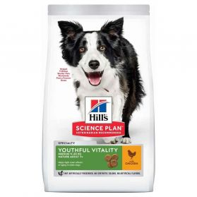 Hill's - Canine Mature 7+ Youthful Vitality Small & Mini pour Chien - 12Kg