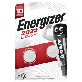 Energizer - Lot Piles Boutons Lithium CR 2032 - x2