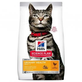 Hill's Science Plan - Croquettes Urinary & Sterilised au Poulet pour Chat - 1,5Kg