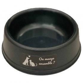 Animalis - Gamelle solidaire « On mange ensemble » pour Chien et Chat - 500ml