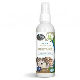 Biovetol - Lotion Dentaire Chien Chat - 125ml