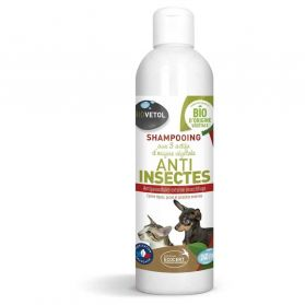 Biovetol - Shampoing Anti Insectes Chien et Chat - 240ml