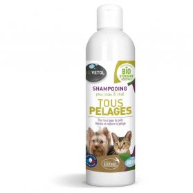 Biovetol - Shampoing Tous Pelages Chien Chat - 240ml