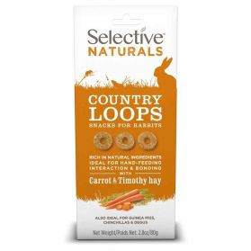 Supreme Science - Selective Naturals Country Loops pour Rongeurs - 80g