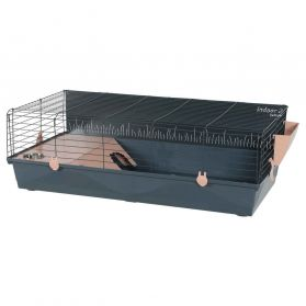 Zolux - Cage Indoor2 Rose pour Grands Rongeurs - 100cm