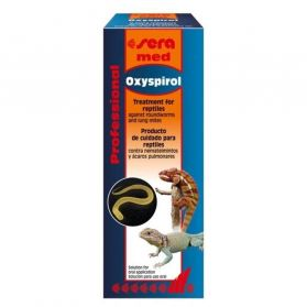 Sera - Traitement Med Professional Oxyspirol pour Reptiles - 30ml