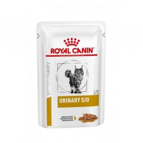 Royal Canin - Sachets Veterinary Urinary S/O pour Chat - 12x85g