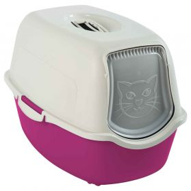 Animalis - Maison de Toilette pour Chat - Rose