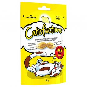 Catisfactions - Friandises au Fromage - 60g