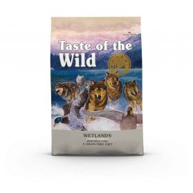 Taste of the Wild - Croquettes Canine Wetlands Canard pour Chien - 12Kg
