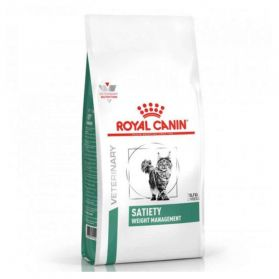 Royal Canin - Croquettes Veterinary Diet Satiety Weight Management pour Chat - 6Kg