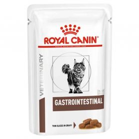 Royal Canin - Sachets Veterinary Diet Gastro Intestinal pour Chat - 12x85g