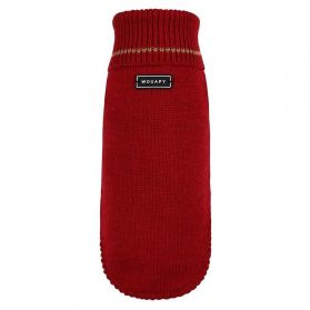 Wouapy -  Pull Basic Rouge pour Chien - T40