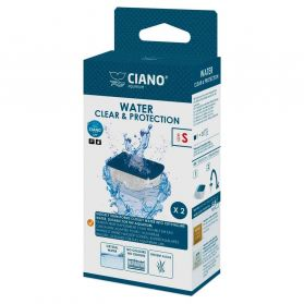 Ciano - Cartouches Water Clear Taille S - x2