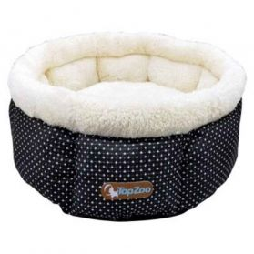 Topzoo - Corbeille Tulipe Julie Quilted L pour Chat - 60cm