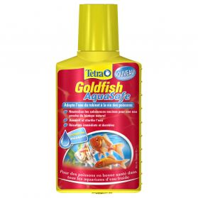 Tetra - Conditionneur d'Eau Goldfish AquaSafe pour Poissons Rouges - 100ml