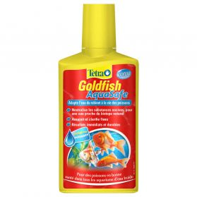 Tetra - Conditionneur d'Eau Goldfish Aquasafe pour Poissons Rouges - 250ml