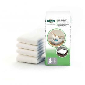 PetSafe - Tapis Absorbant Bac Crystal Deluxe pour Chat - x4