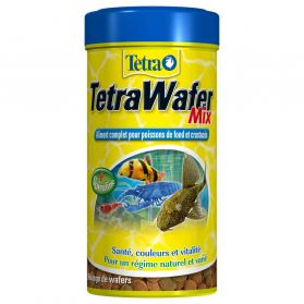 Tetra - Aliment Complet TetraWafer Mix pour Crustacés - 250ml