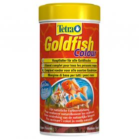 Tetra - Aliment Complet Goldfish Colour en Flocons pour Poissons Rouges - 250ml