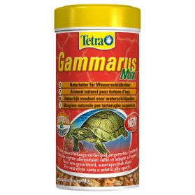 Tetra - Aliment Naturel Gammarus Mix pour Tortues d'Eau - 250ml